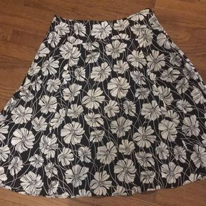 Evan Picone A-line skirt size 8. Lined